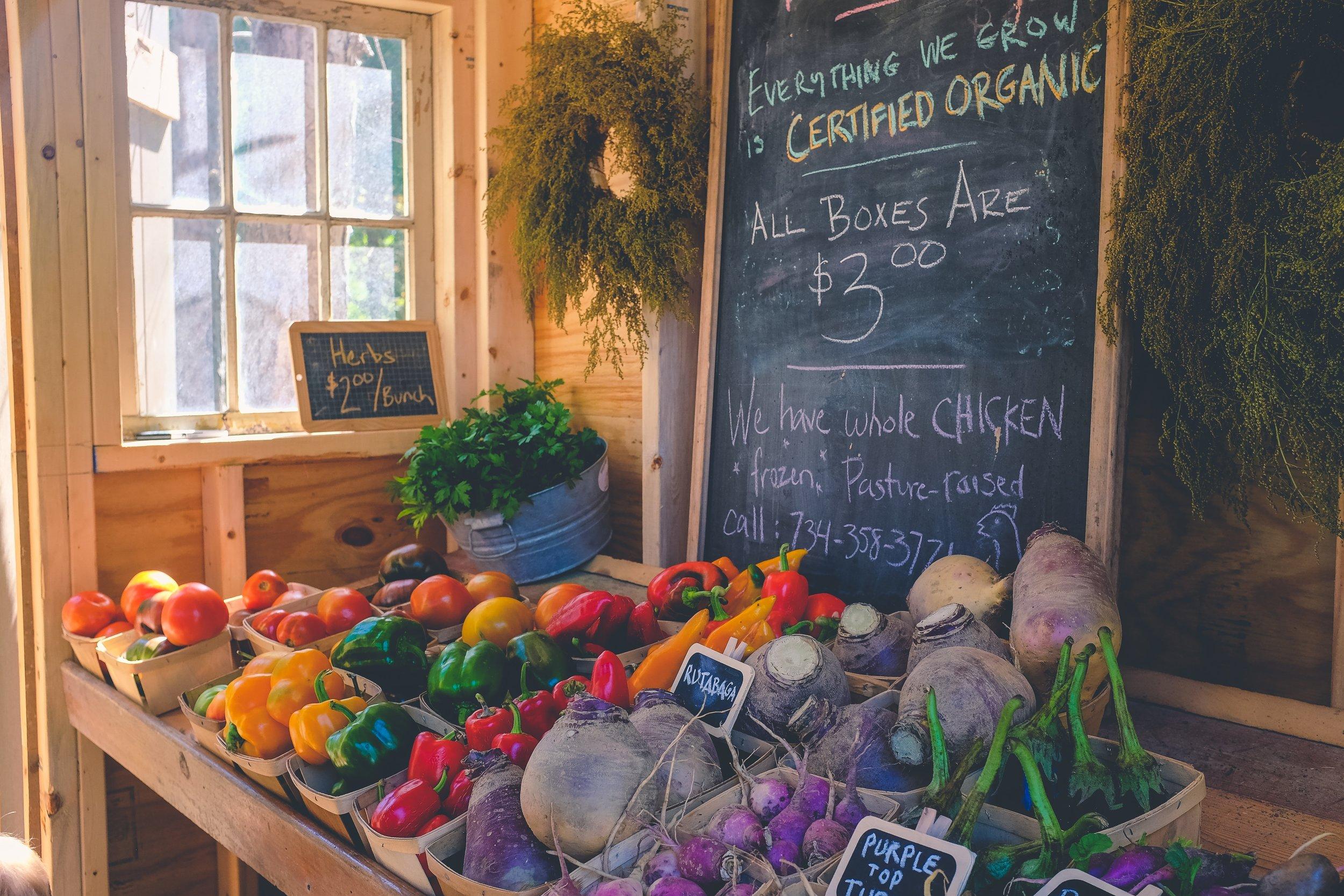 Organska hrana i zdrava prehrana