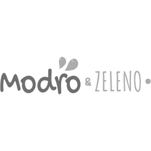 Modro & Zeleno logo